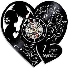 Gullei.com 1ST Wedding Creative Vinyl Wall Clock