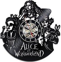 Gullei.com Alice in Wonderland Vinyl Record Wall