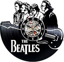 Gullei.com Beatles Fans Vinyl Clock Wall