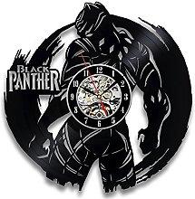 Gullei.com Black Panther Unusual Vinyl Wall Clock