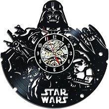Gullei.com Creative Star Wars Vinyl Record Clock
