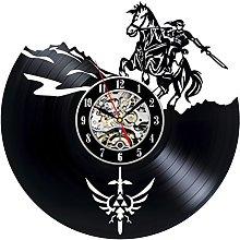 Gullei.com Decorative Vinyl Record Wall Clock