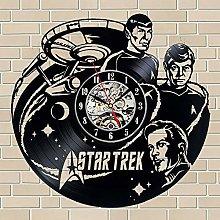 Gullei.com for Star Trek Fans Vinyl Record Clock