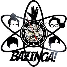 Gullei.com Vinyl Wall Clock Bazinga Big Bang