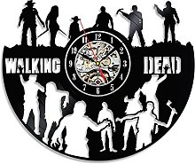 Gullei.com Walking Dead Theme Vinyl Wall Clock