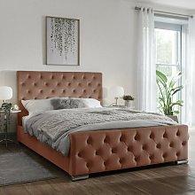 Gunner Upholstered Bed Frame Willa Arlo Interiors