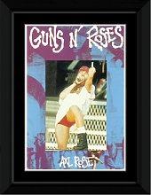 Guns n Roses - Axl - Finger Framed and Mounted