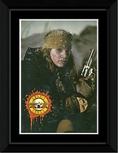 Guns N Roses - Gun Framed and Mounted Print -