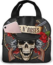 Guns_Nroses Portable Lunch Bag Insulated Cooler