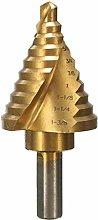 GUOCAO Tools Drill 1/4 Inch to 1-3/8 Inch Titanium