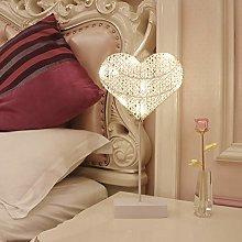 GUOCHENG 3D Heart Shaped Motif Lights Love Heart