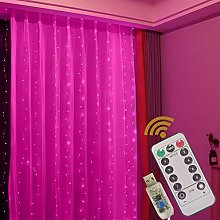 GUOCHENG Copper String Curtain Lights LED 3mx3m