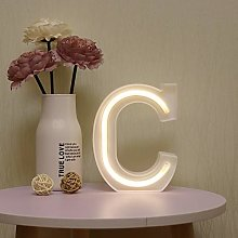 GUOCHENG LED Neon Letter Lights Alphabet Light Up