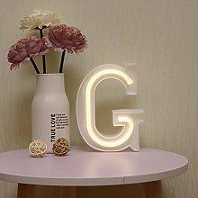 GUOCHENG LED Neon Letter Lights Alphabet Light Up