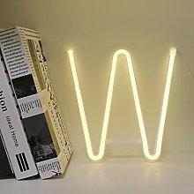 GUOCHENG Lighting up Words Neon Alphabet Letter