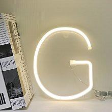 GUOCHENG Neon Alphabet Letters LED Light Sign