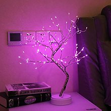 GUOCHENG Starry Copper String Tree Lamp LED