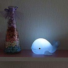 GUOCHENG Whale Night Light Battery Operated Animal