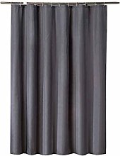 GUOCU Charcoal Grey Shower Curtains Mould & Mildew