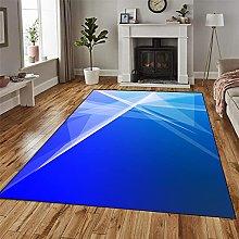GUODIU Area Rug 110x110cm Soft Anti Slip Floor Mat