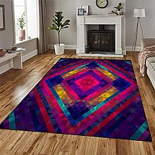 GUODIU Area Rug 110x150cm Soft Anti Slip Floor Mat