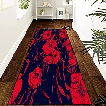 GUODIU Area Rug 110x300cm Soft Touch Short Pile
