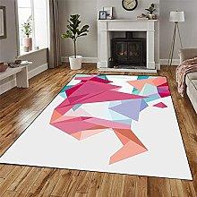GUODIU Area Rug 110x480cm Soft Durable Modern
