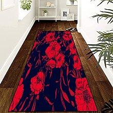 GUODIU Area Rug 120x180cm Non Slip Bedroom Carpet