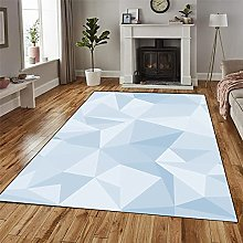 GUODIU Area Rug 120x400cm Soft Touch Short Pile