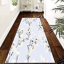 GUODIU Area Rug 80x400cm Soft Touch Modern Style