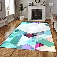 GUODIU Area Rug 90x500cm Soft Touch Short Pile
