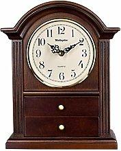 GUOLINGHUI Retro Creative Desk Clock,Silent
