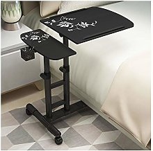GUOQING Portable Overbed Chair Days Overbed Table,