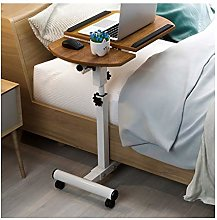 GUOQING Portable Overbed Chair Laptop Desk Table