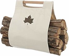 guoqunshop fireplace tool set Canvas Log Handbag