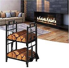 guoqunshop fireplace tool set Large Capacity