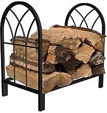guoqunshop fireplace tool set Large Firewood Rack