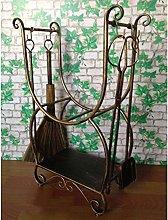 guoqunshop fireplace tool set Wrought Iron Large