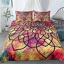 Guoting 3D Bedding Set Color Creativity Flowers
