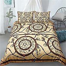 Guoting 3D Bedding Set Yellow Creative Dream
