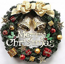 guoxia74534 Christmas Ornaments Wreath Garland,