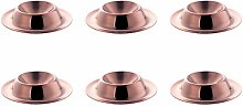 GUOXIANG Egg Tray Stainless Steel Golden Egg Cups,