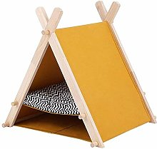 GUOXY Cat Dog Bed Pet Bed Cat Tent Bed, Pet Teepee
