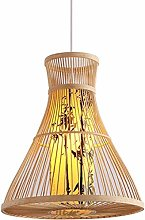 GUOXY Chandelier Natural Bamboo Chandelier