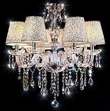 GUOXY Crystal Chandelier Modern Glass Lighting