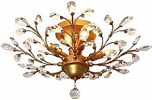 GUOXY Crystal Chandeliers Crystal Led Ceiling