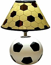 GUOXY Desk Lamp Cartoon Football Eye Protection