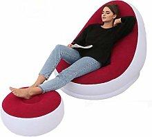GUOXY Lazy Sofa Inflatable Folding Recliner