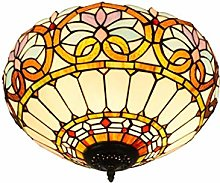 GUOXY Styled Ceiling Light,16-Inches Flush Mount