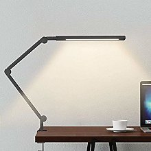 GUOXY Swing Arm Lamp, Led Desk Lamp with Clamp, 9W